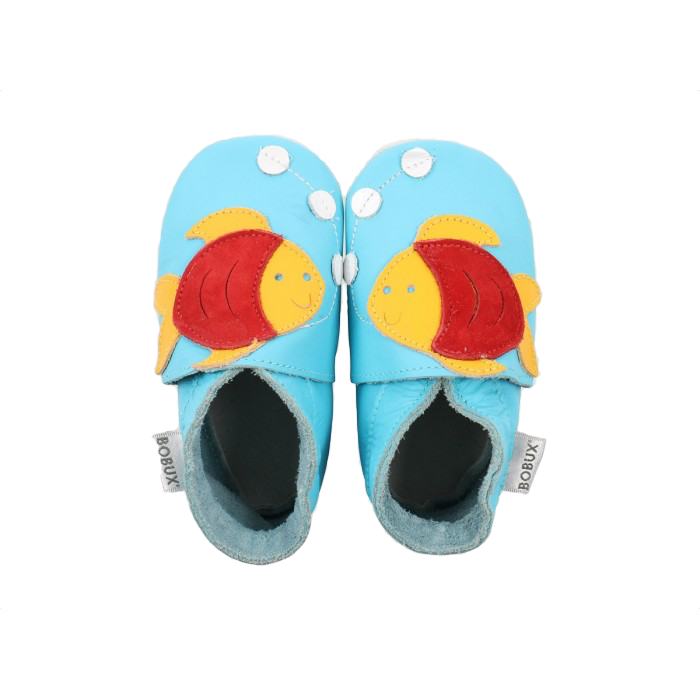 Bobux Shoes - Fishy Bright Blue baby   clothing   shoes