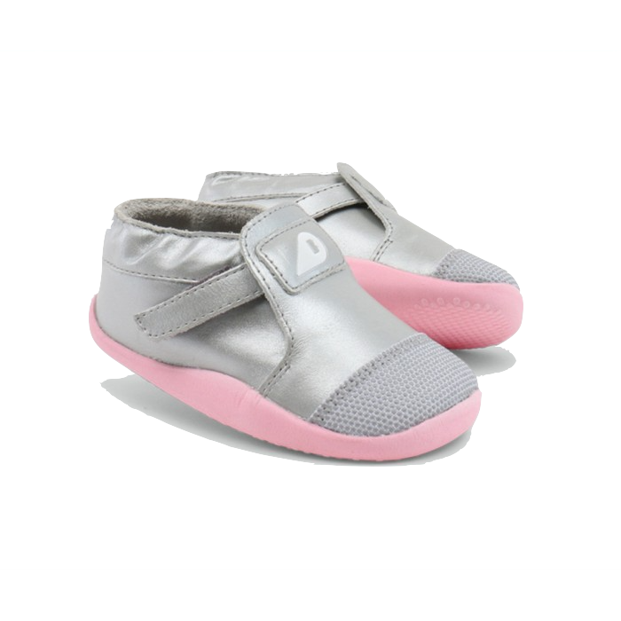 Bobux Shoes - Origin Xplorer Silver/Pale/Pink baby   clothing   shoes