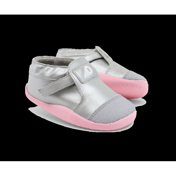 Bobux Shoes - Origin Xplorer Silver/Pale/Pink clothing   shoes