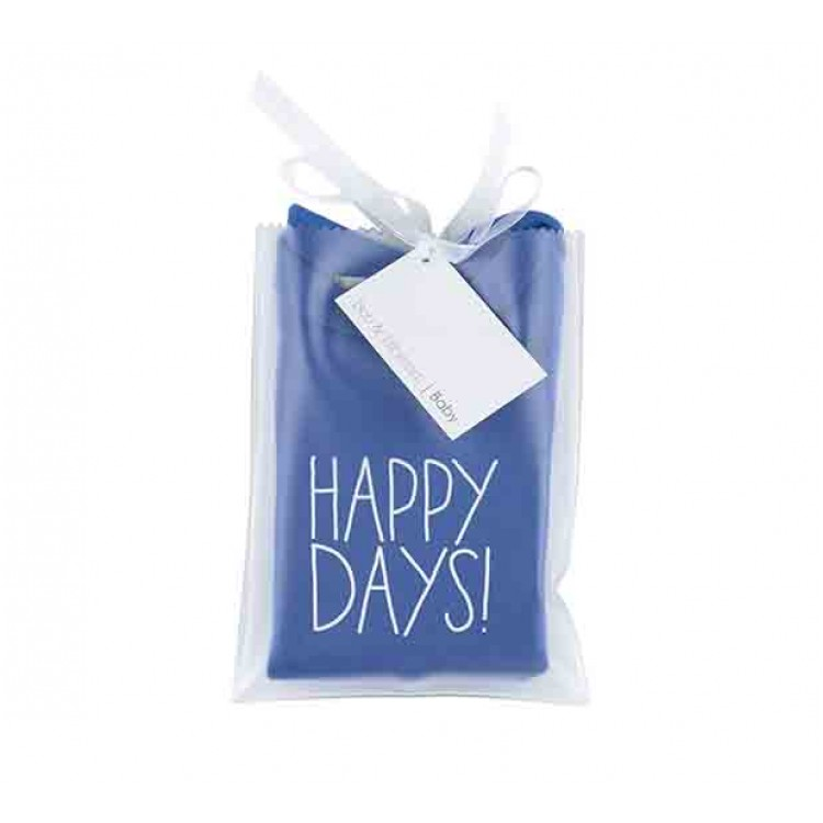 Ink Blue Happy Days! Baby T-Shirt