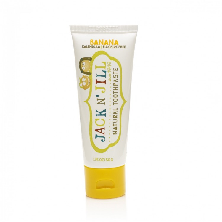 Mamababy.online, Jack N Jill Natural Calendula Toothpaste Banana Flavour 50g, Bathing, JackNJill, princess dress, girl dress, party dress, feeding, mother, baby, feeding bottles, baby shoes, swimsuits, summer accessories, t-shirt, maternity, shocks, costu