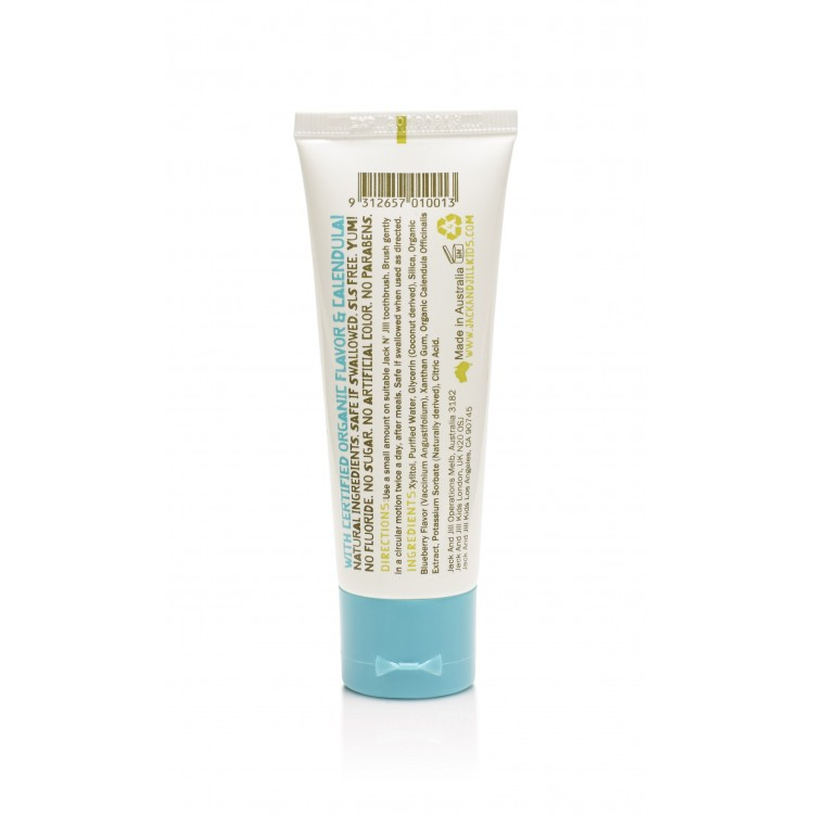Jack N Jill Natural Calendula Toothpaste Blueberry Flavour 50g