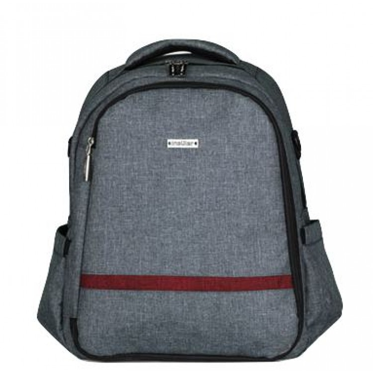 Grey Baby Nappy Backpack