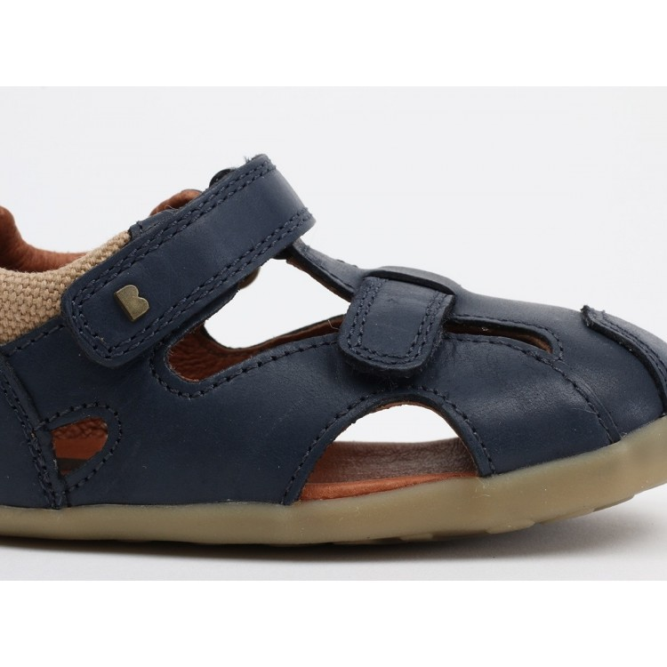 Bobux Shoes -  Chase Navy Sandals