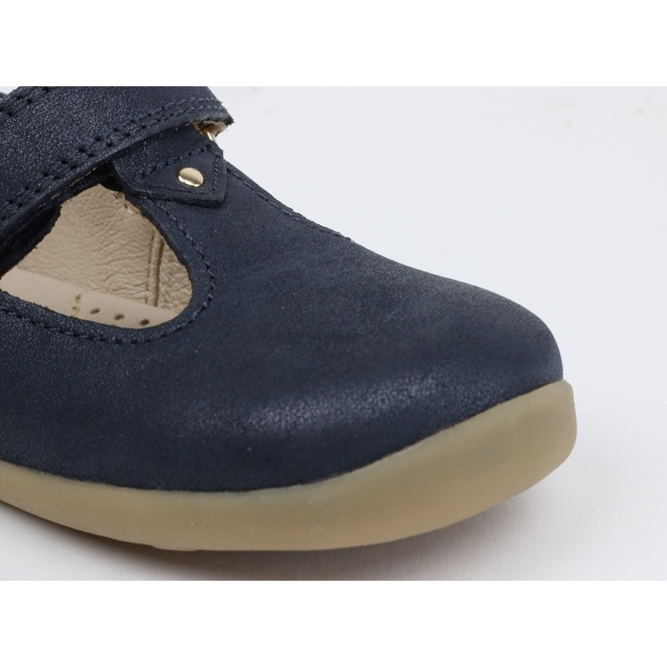 Bobux Shoes -  Louise Navy Shimmer