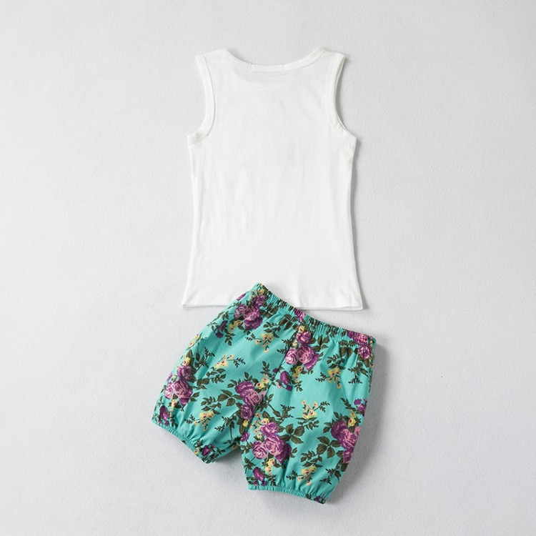 Clothing set for baby Girl Green