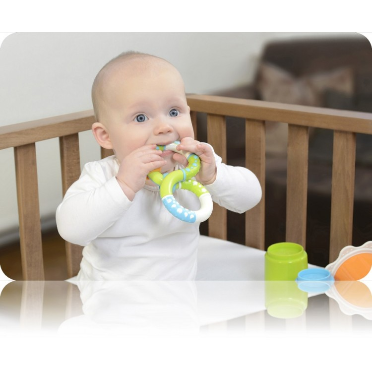 Kidsme - Twist and Learn Ring Rattle
