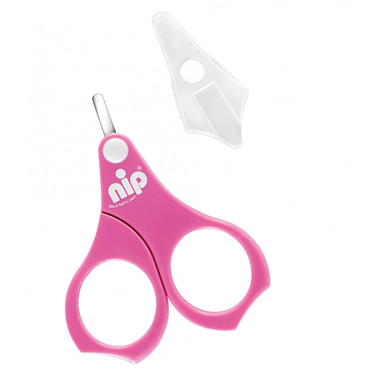 Mamababy.online, Nip Baby Nail Scissors - Pink, Bathing, Nip, princess dress, girl dress, party dress, feeding, mother, baby, feeding bottles, baby shoes, swimsuits, summer accessories, t-shirt, maternity, shocks, costumes, nursing, bags, mother bags, tut