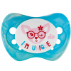 Set of 2 soothers Nip Unique Blue and Pink 6+