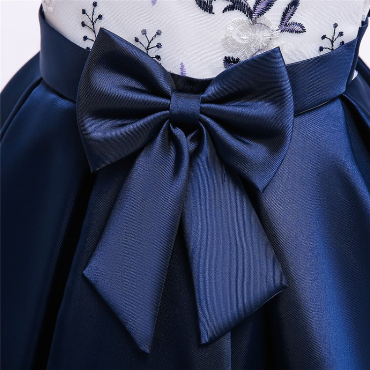 Girl Dress for Events Blue
