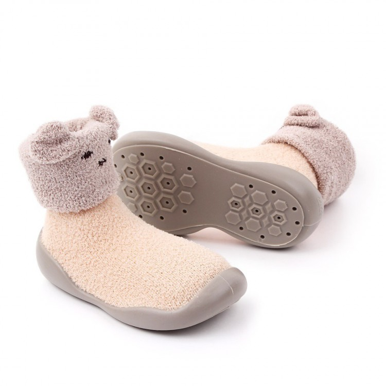 Mamababy.online, Toddler Polarfleece Embroidered Thermal Prewalker Shoes Apricot, Girls, babykids, princess dress, girl dress, party dress, feeding, mother, baby, feeding bottles, baby shoes, swimsuits, summer accessories, t-shirt, maternity, shocks, cost