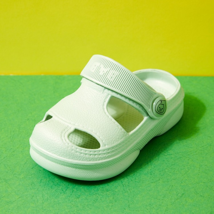 Kid Solid Sandals - Pale Green, princess dress, girl dress, party dress, feeding, mother, baby, feeding bottles, baby shoes, swimsuits, summer accessories, t-shirt