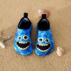 Cartoon Print Athleisure Water Beach Shoes for Toddlers  - Blue