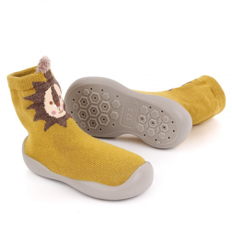 Mamababy.online, Toddler Animal Pattern Knitted Casual Prewalker Yellow, Girls, babykids, princess dress, girl dress, party dress, feeding, mother, baby, feeding bottles, baby shoes, swimsuits, summer accessories, t-shirt, maternity, shocks, costumes, nur
