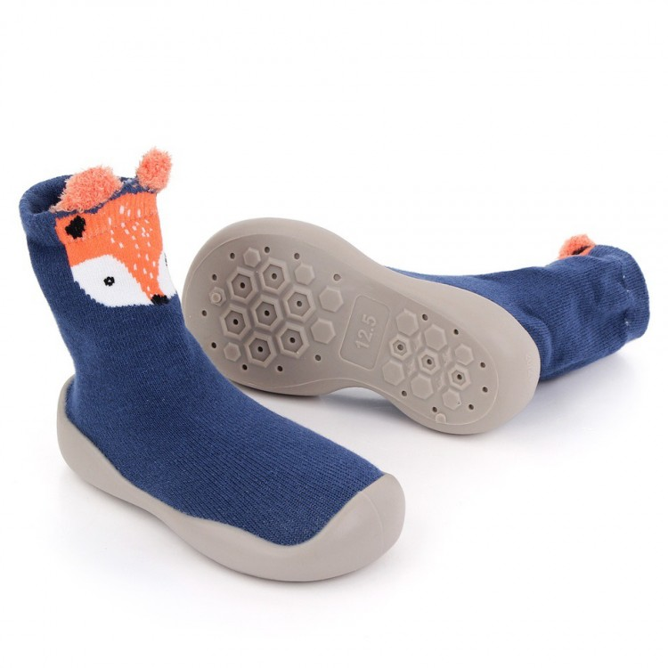 Mamababy.online, Animal Pattern Knitted Prewalker Blue, Boys, babykids, princess dress, girl dress, party dress, feeding, mother, baby, feeding bottles, baby shoes, swimsuits, summer accessories, t-shirt, maternity, shocks, costumes, nursing, bags, mother