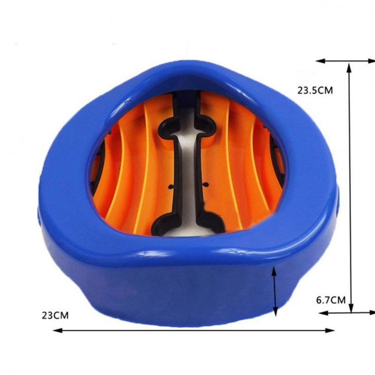 Travel Potty Chair 2 in 1 Toilet Assistant Multifunction - Blue