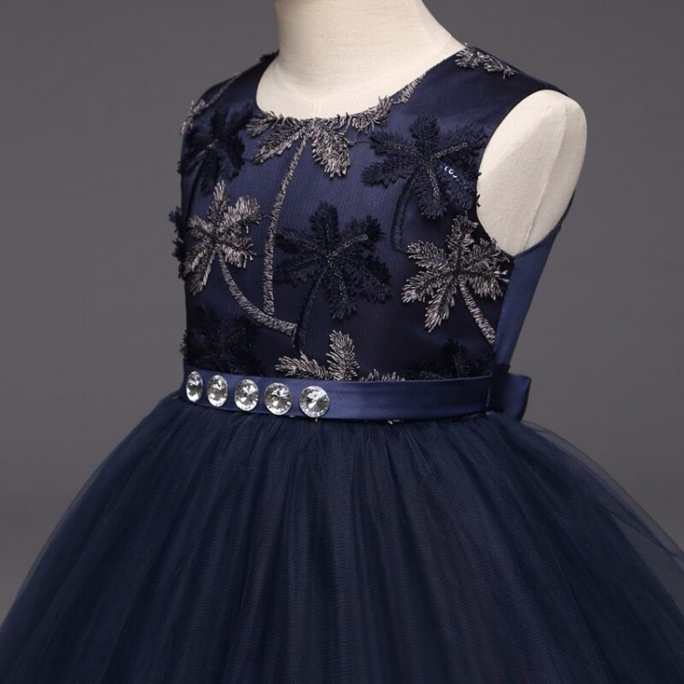 Blue Long dress for events