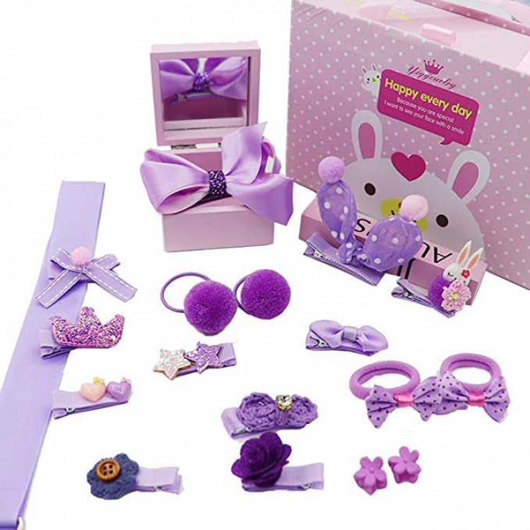 Mamababy.online, Accessories Set gift box for Girls - Lavender, Girls, Accessories, princess dress, girl dress, party dress, feeding, mother, baby, feeding bottles, baby shoes, swimsuits, summer accessories, t-shirt, maternity, shocks, costumes, nursing,