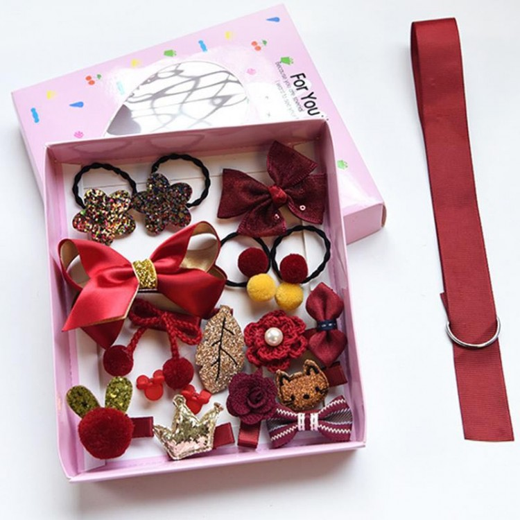 Mamababy.online, Accessories Set gift box for Girls - Cameo brown, Girls, Accessories, princess dress, girl dress, party dress, feeding, mother, baby, feeding bottles, baby shoes, swimsuits, summer accessories, t-shirt, maternity, shocks, costumes, nursin