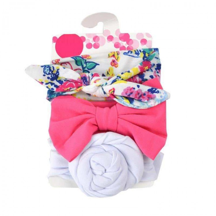 Mamababy.online, 3-piece Pretty Bowknot Hairband for Girls - One Size, Girls, Accessories, princess dress, girl dress, party dress, feeding, mother, baby, feeding bottles, baby shoes, swimsuits, summer accessories, t-shirt, maternity, shocks, costumes, nu