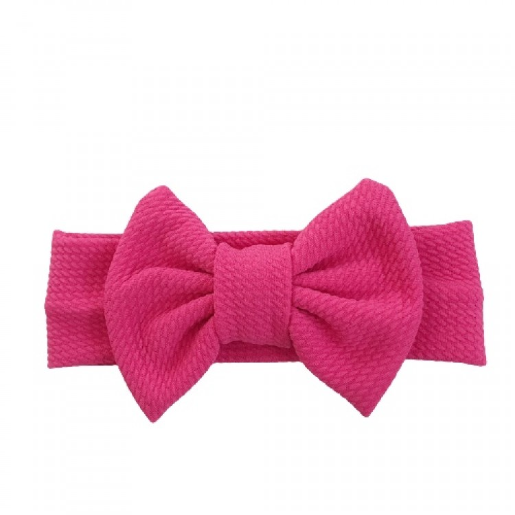 Mamababy.online, Baby Solid Bowknot Headband - Hot Pink, accessories, Accessories, princess dress, girl dress, party dress, feeding, mother, baby, feeding bottles, baby shoes, swimsuits, summer accessories, t-shirt, maternity, shocks, costumes, nursing, b