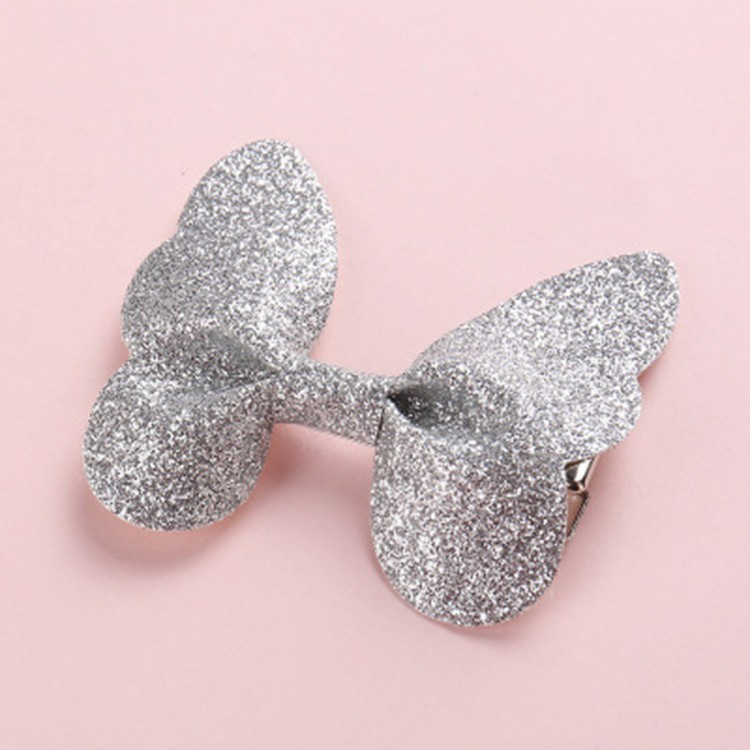 Mamababy.online, Sequined Butterfly Hairpin Silver, accessories, Accessories, princess dress, girl dress, party dress, feeding, mother, baby, feeding bottles, baby shoes, swimsuits, summer accessories, t-shirt, maternity, shocks, costumes, nursing, bags,
