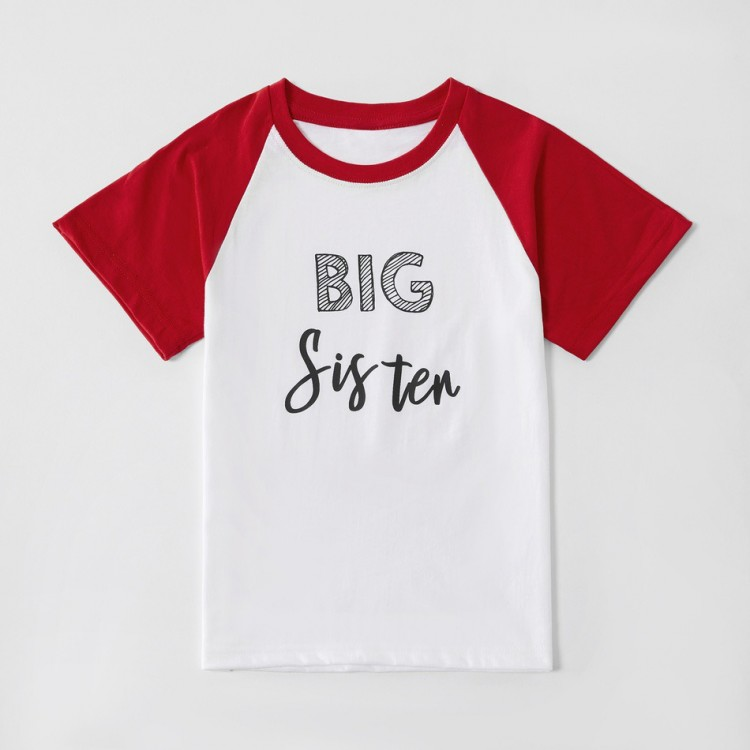 Mamababy.online, Letter Print Family Matching Cotton Tops, Girls, Newdress, princess dress, girl dress, party dress, feeding, mother, baby, feeding bottles, baby shoes, swimsuits, summer accessories, t-shirt, maternity, shocks, costumes, nursing, bags, mo