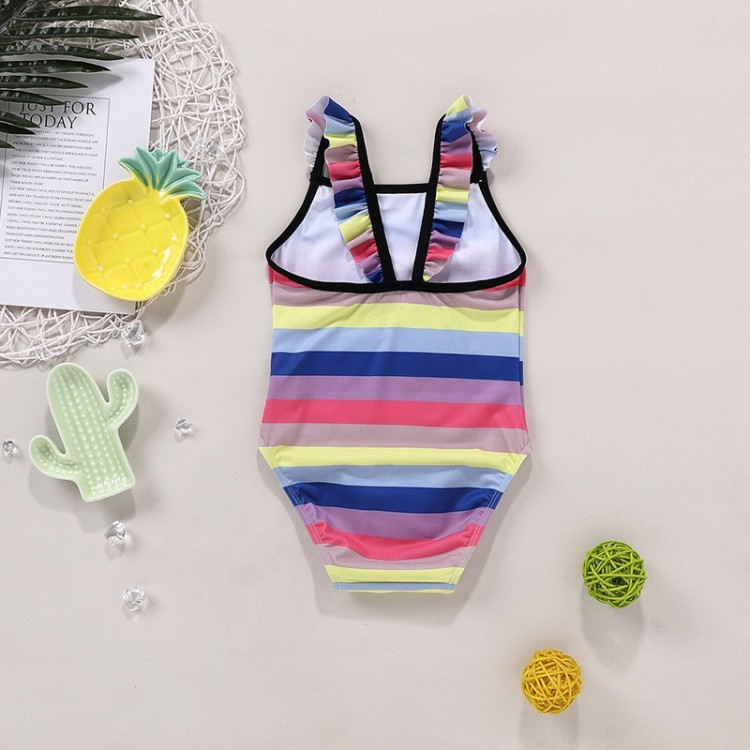 Baby Girl Swimsuit - Multi-color