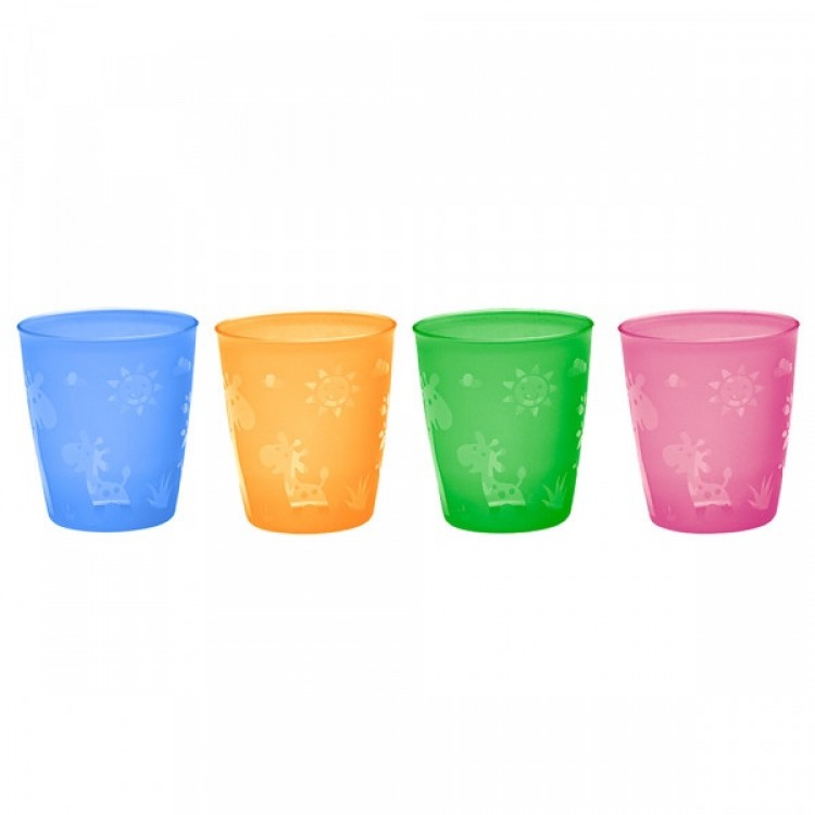 Mamababy.online, Drinking beaker Set of 4, Feeding, Nip, princess dress, girl dress, party dress, feeding, mother, baby, feeding bottles, baby shoes, swimsuits, summer accessories, t-shirt, maternity, shocks, costumes, nursing, bags, mother bags, tutu, sl