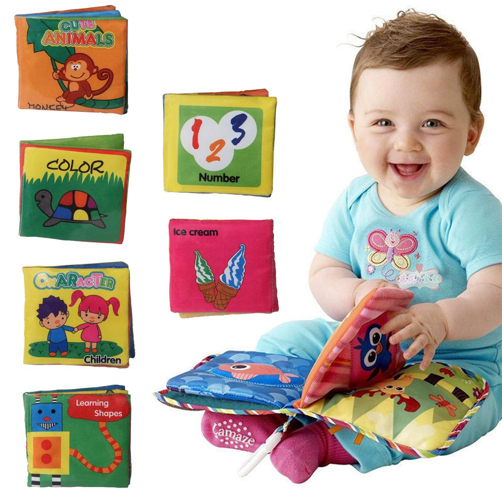 Animal English Early Education Hand Book Toy for Kids baby   playing