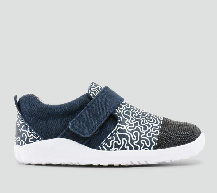 Bobux Shoes - Aktiv Plus White Maze