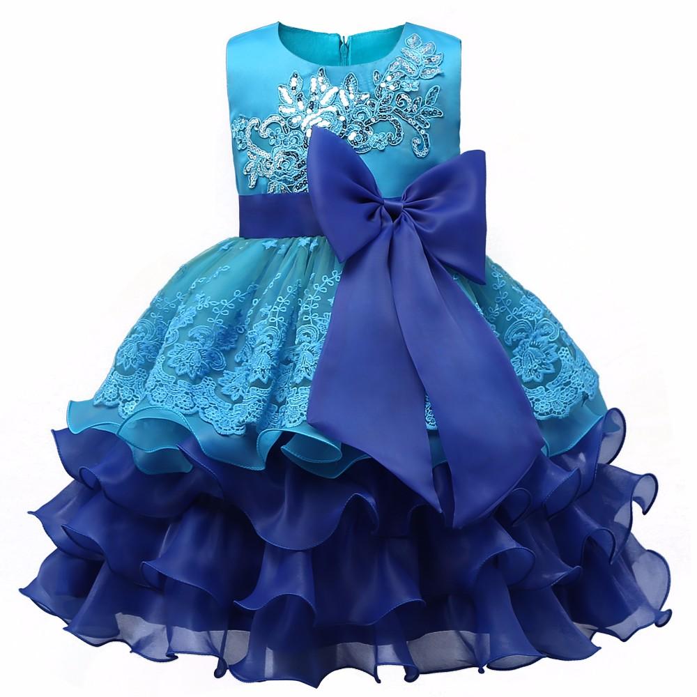 Girl Dress for event Blue