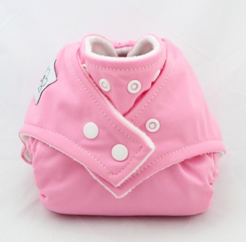 Soft Cloth Baby Nappy Pink baby   bathing