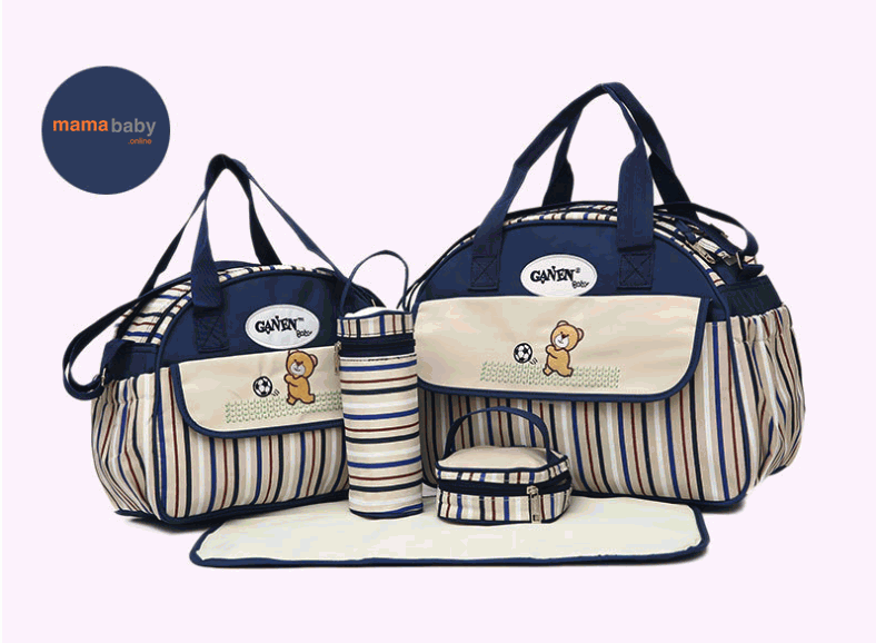 Baby Diaper bag blue baby   safety  amp amp  travelling