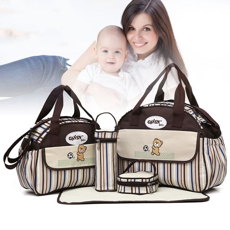 Baby Diaper bag brown baby   safety  amp amp  travelling