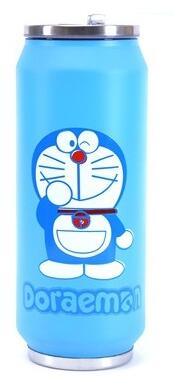 Stainless steel Water Bottle: Large Doraemon baby   feeding   bottle