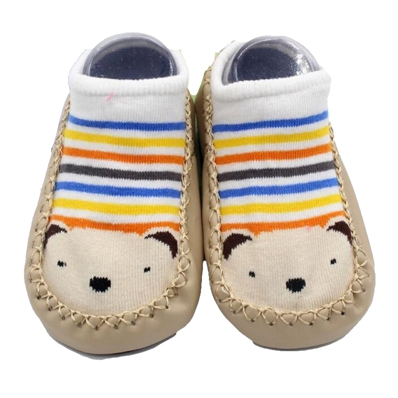 Baby shoes socks Little Bear